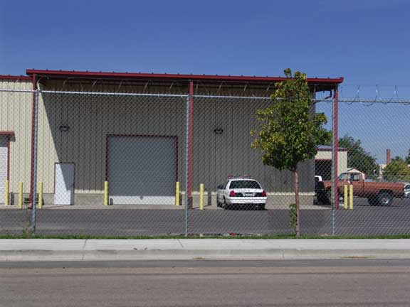 Rainwater Storage was achieved at Canyon County Vehicle Maintenance in Caldwell, Idaho, using Rainstore3.