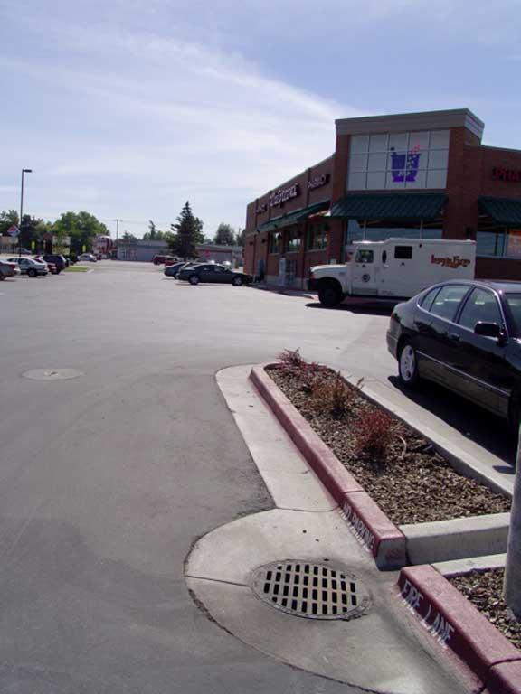 Rainwater Storage was installed at Walgreens Pharmacy in Caldwell, Idaho, using Rainstore3.