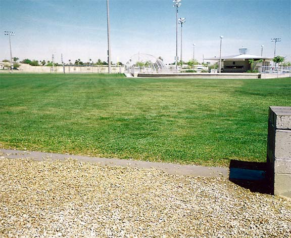 Gravelpave2 and Grasspave2 were installed in the fire lane access areas at Goodyear Community Park, Goodyear, Arizona.