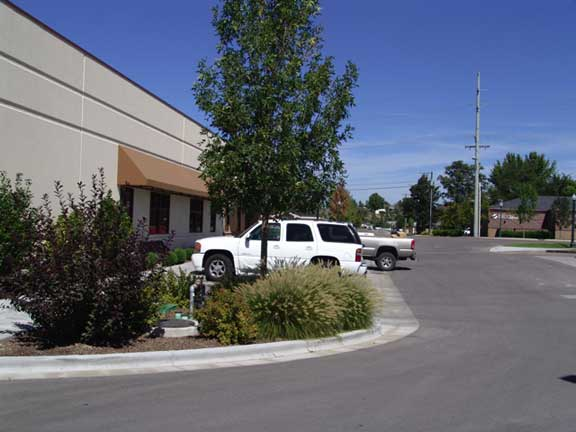 Subsurface-Water Retention was installed at Wright Brothers, The Building Company, Eagle, Idaho, using Raincore3.