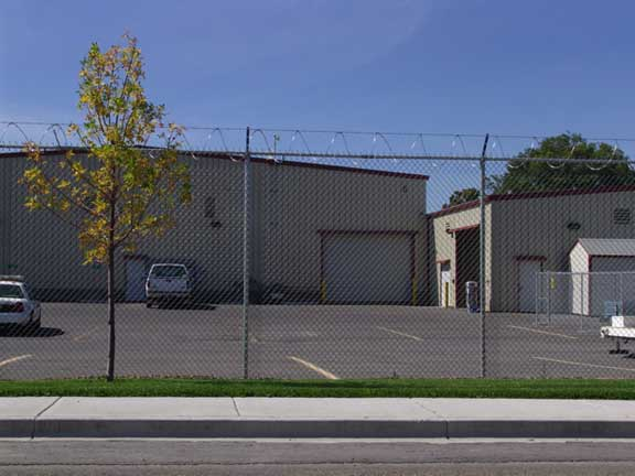 Undergroung-Water Detention was achieved at Canyon County Vehicle Maintenance, Caldwell, Idaho, using Rainstore3.