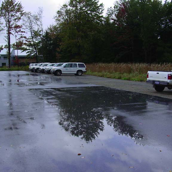 Aggregrate Parking was installed in the parking area at The Pennsylvania Environmental Protection's Cambria Office, using Gravelpave2.