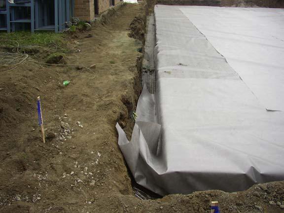 Underground-Rainwater Storage was installed at the University of Michigan Elbel Field, Ann Arbor, Michigan, using Rainstore3.