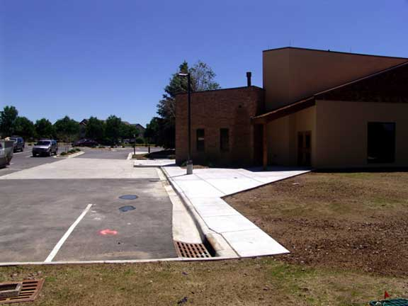 Rainwater Storage was installed at the Good Shepherd Episcopal Church, Centennial, Colorado, using Rainstore3.