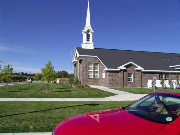 Underground-Water Detention was achieved at the Landover LDS Church in Eagle, Idaho, using Rainstore3.