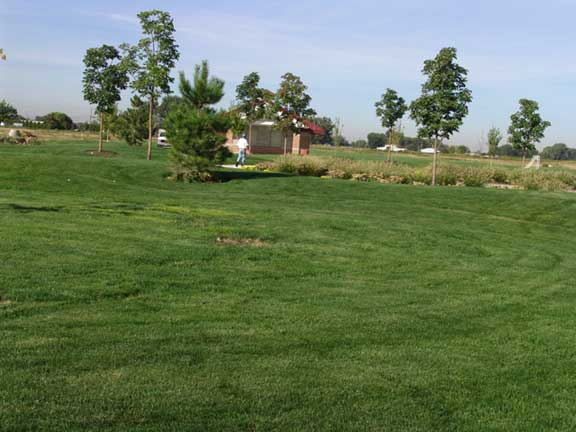 A Subsurface Cistern was installed at Settlers Park in Meridian, Idaho, using Grasspave2.