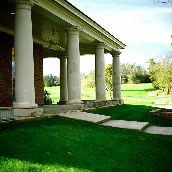 Pervious-Grass Paving was installed at Springhill College Golf Course in Mobile, Alabama, using Grasspave2.