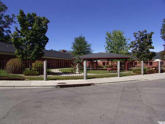 Rainwater Storage was achieved at the Veterans Administration Hospital, Boise, Idaho, using Rainstore3.