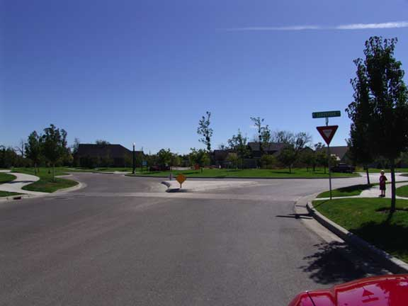 Subsurface Water Detention was achieved at Brookwood housing complex in Eagle, Idaho, using Rainstore3.