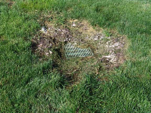 Underground-Stormwater Retention was achieved at Settlers Park in Meridian, Idaho, using Grasspave2.