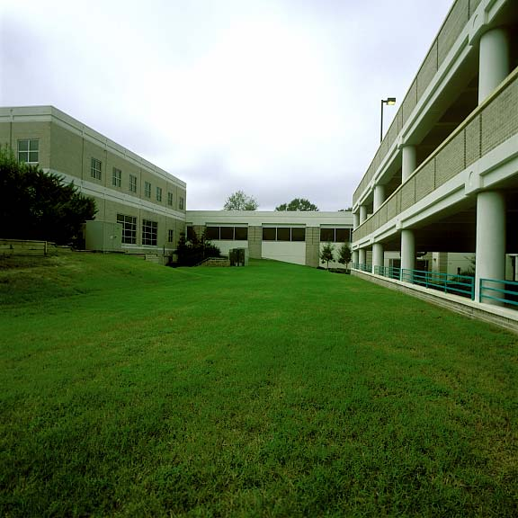 Turf Pavers were installed in the fire lane access areas at The Woods at Hollytree (Retirement Living) in Wilmington, North Carolina, using Grasspave2.