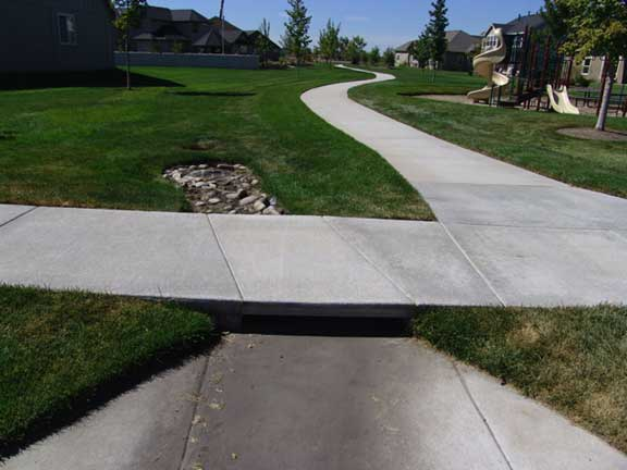 Water Storage was installed in the Countryside housing complex, Eagle, Idaho, using Rainstore3.