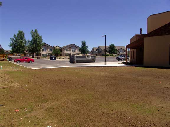 A Stormwater-Detention System was installed at the Good Shepherd Episcopal Church, Centennial, Colorado, using Rainstore3.