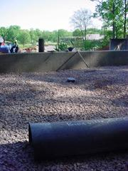 "A Subsurface-Drainage System was installed in a children's sand-box at the Knoxville Zoo's ""Kid's Cove"" in Knoxville, Tennessee, using Draincore2."