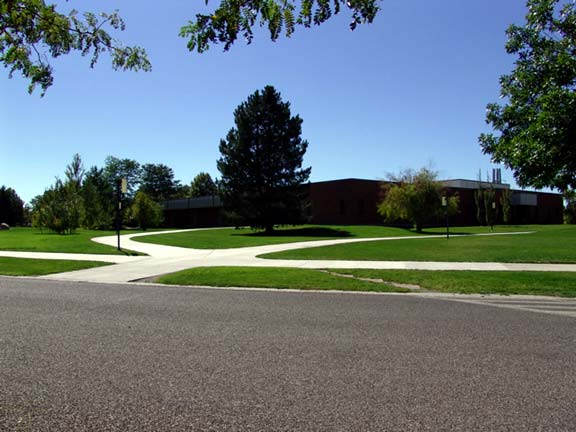 At the College of Southern Idaho, Grass Pavers were installed on each side of the sidewalk to create a fire lane, using Grasspave2.