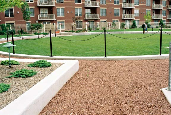 Aggregate Paving was installed in the trails at Metropolitan Place Condominium Complex in Madison, Wisconsin, using Gravelpave2.