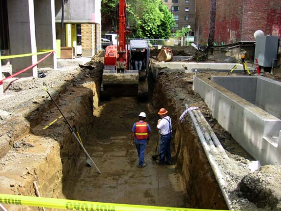 Stormwater Storage was installed at the Stephen Epler Hall, Portland State University in Portland, Oregon, using Rainstore3.