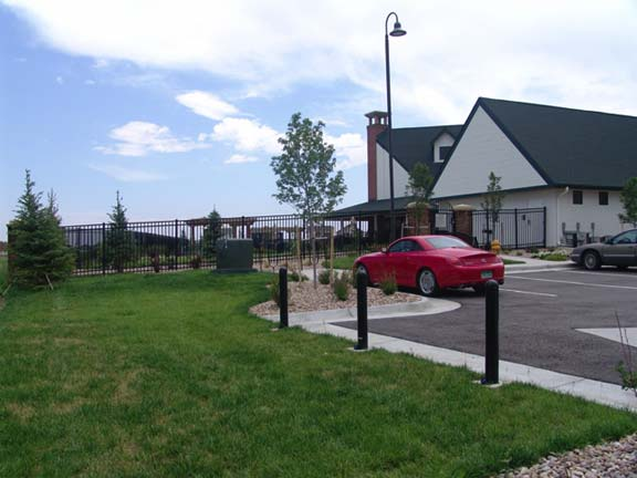 Grass Paving was installed in the utility-access areas at Murphy Creek Recreation Center, Aurora, Colorado, using Grasspave2.