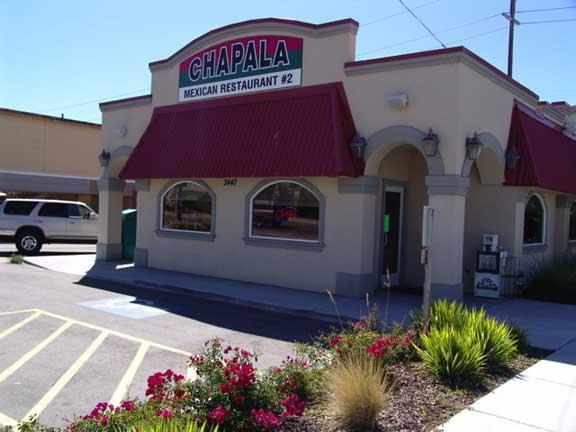 Rainwater Harvesting was achieved at Chapala Mexican Restaurant #2, Garden City, Idaho, using Rainstore3.
