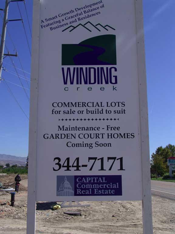 Underground-Water Storage was installed in the Winding Creek housing development in Eagle, Idaho, using Rainstore2.