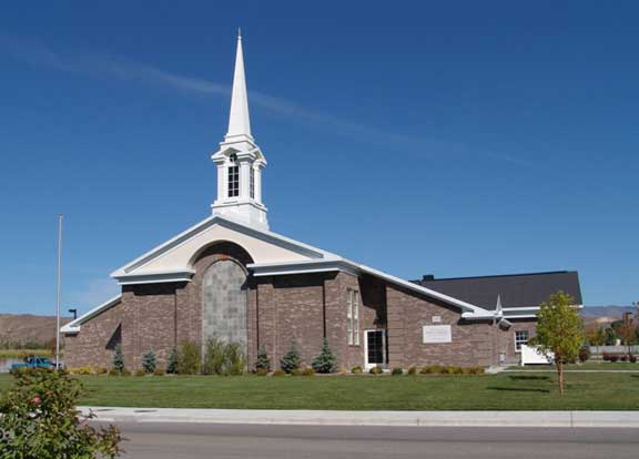 Rainwater Harvesting was achieved at the Landover LDS Church in Eagle, Idaho, using Rainstore3.