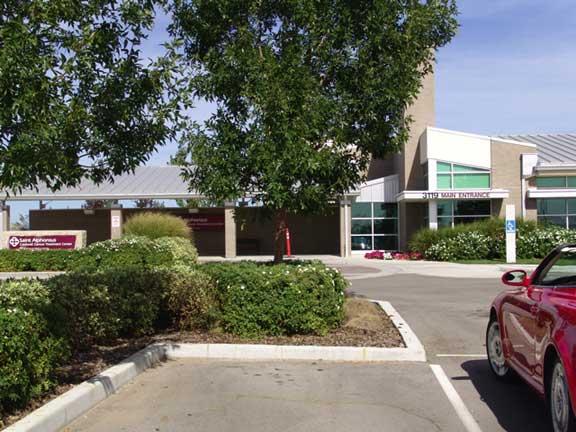 Rainwater Harvesting was achieved at Saint Alphonsus, Caldwell Cancer Treatment Center in Caldwell, Idaho, using Rainstore3.
