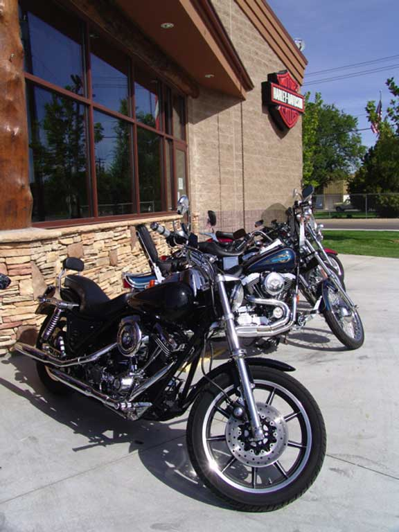A Stormwater-Storage System was installed at Caldwell Harley-Davidson Motorcycles in Caldwell, Idaho, using Rainstore3.