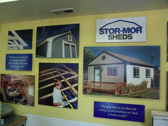 Stormwater Storage was achieved at Stor-Mor Systems in Meridian, Idaho, using Rainstore3.