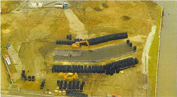 "Rainwater Storage was installed at Mirvac ""Banana"" (Docklands), Melborne, Victoria, Australia, using Rainstore3."