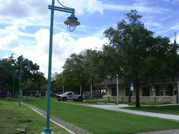 Using Grasspave2, a Permeable Grass Fire and Access Lane was installed at Lummus Park, Police Mounted Patrol in Miami, Florida.