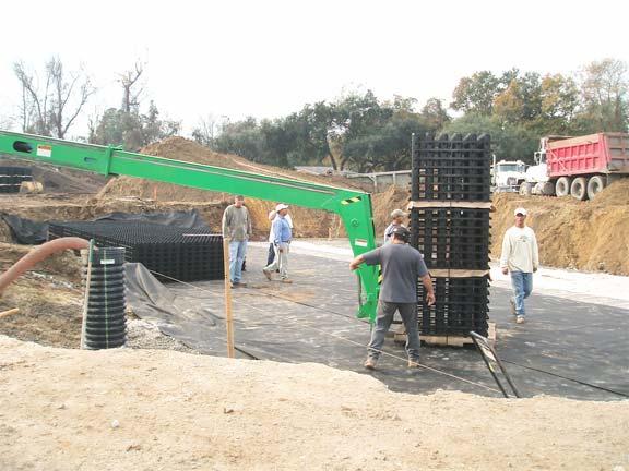 An Underground-Stormwater Storage system was installed at Publix Supermarket in Mt. Pleasant, North Carolina, using Rainstore3.