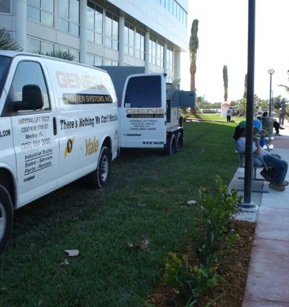 Pervious Grass Paving was installed in the fire lane and utility access areas at Mount Sinai Hospital in Miami Beach, Florida, using Grasspave2.