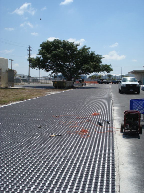 Installation of the Gravelpave2 system