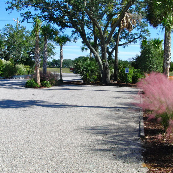 Permeable Gravelpave2 parking lot