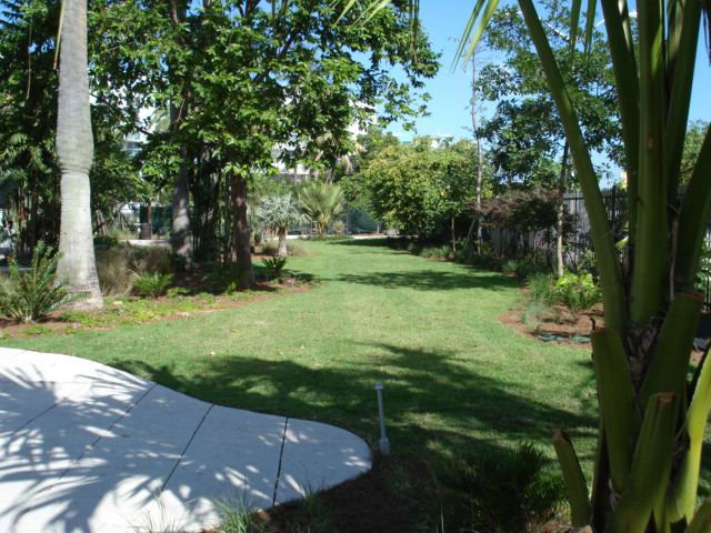 Grasspave2 permeable pavement access drive