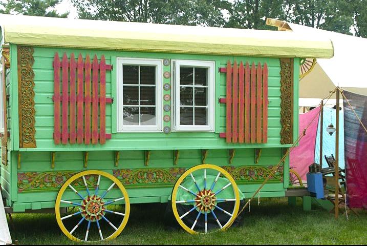 Gypsy Wagon ready for Grasspave2