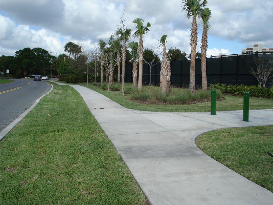 George Brummer Park Grass Porous Fire Lane