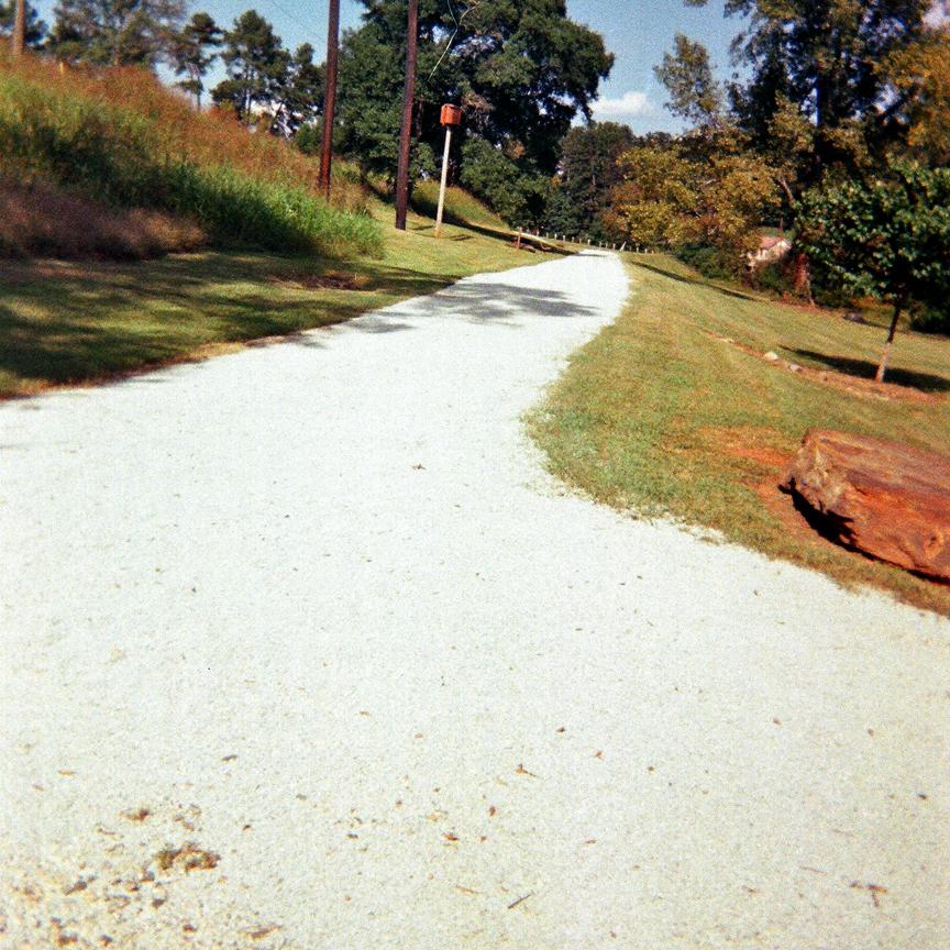 Gravelpave2 porous reinforced trail
