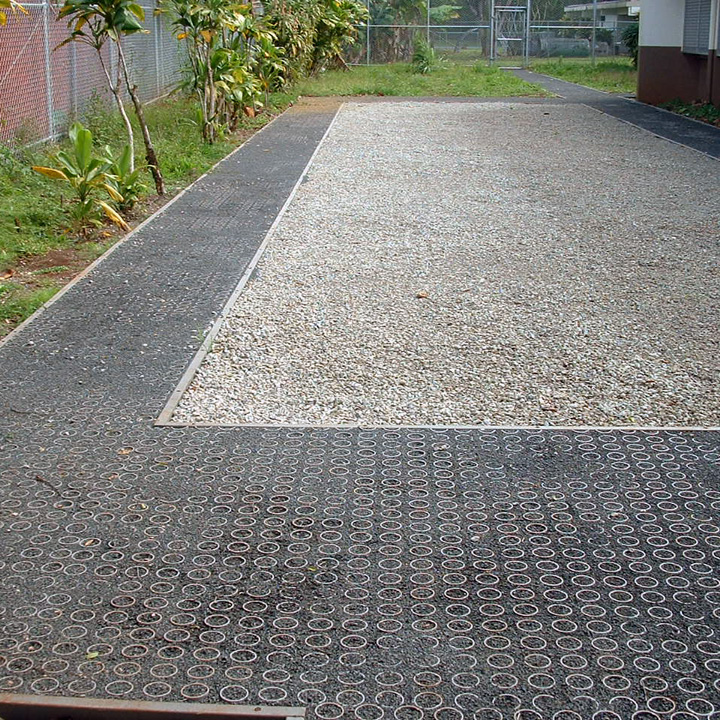 Gravelpave2 will provide wheelchair access for the Rehabilitation patients.
