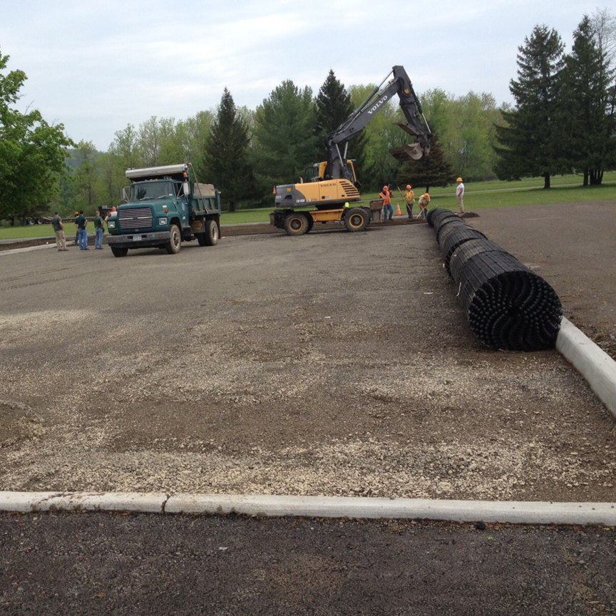Curbing with Grasspave2