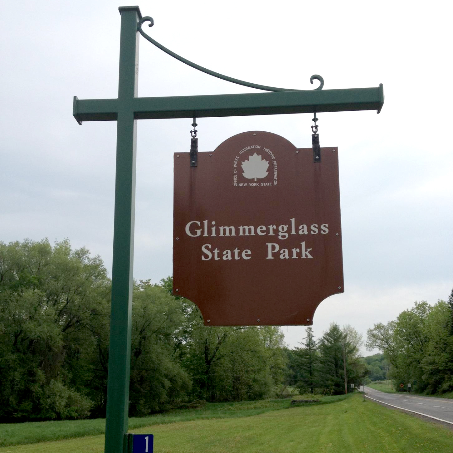 Sign for Glimmerglass Park