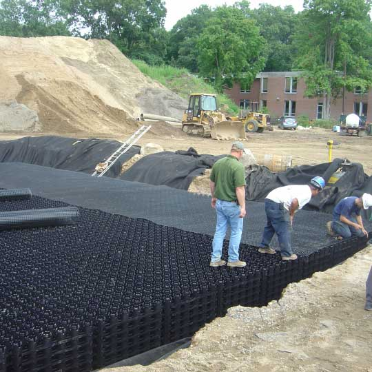 Geogrid goes on the Rainstore3