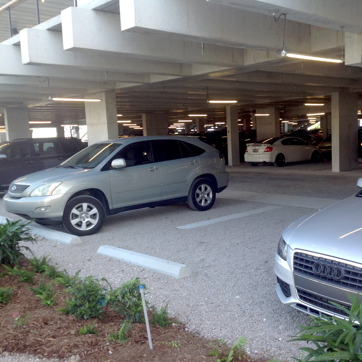 Gravelpave2 parking structure