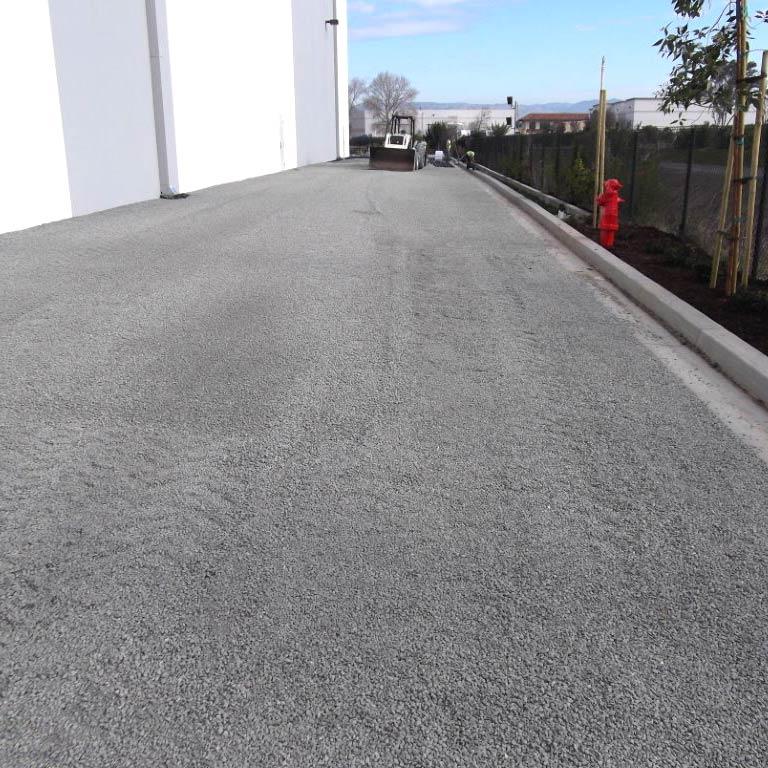 Gravelpave2 porous fire lane