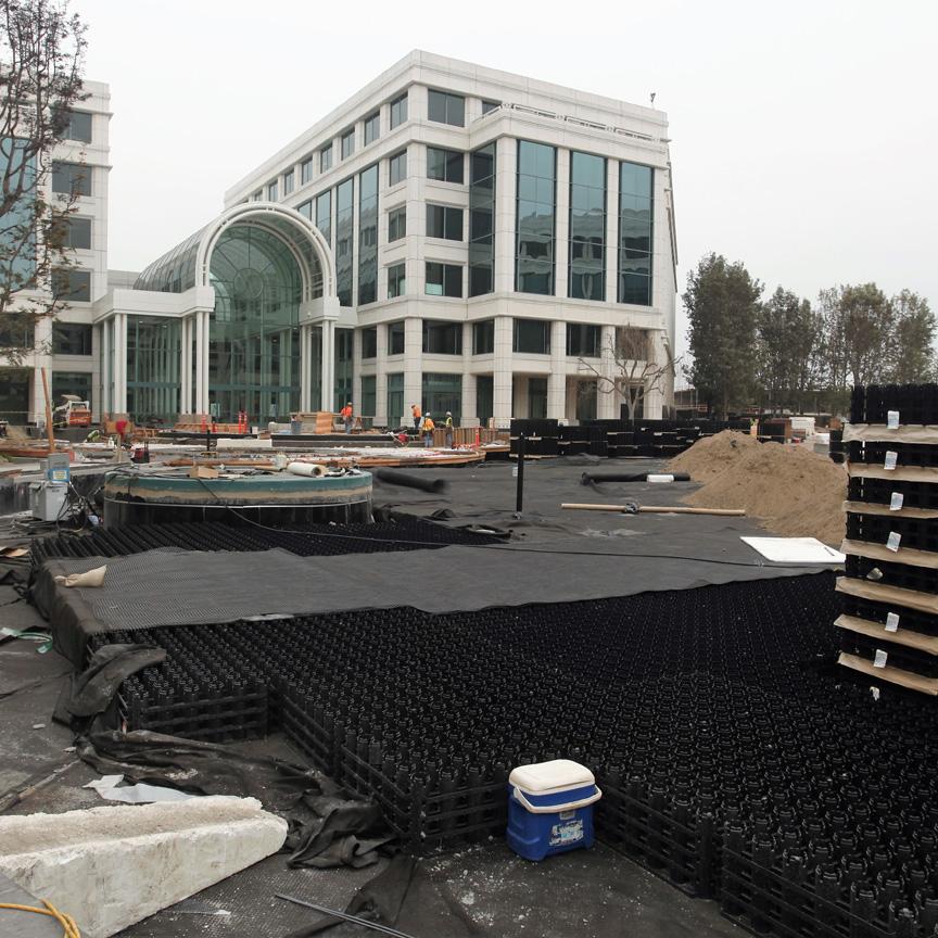 Installation of Rainstore3 Water Garden Water Storage